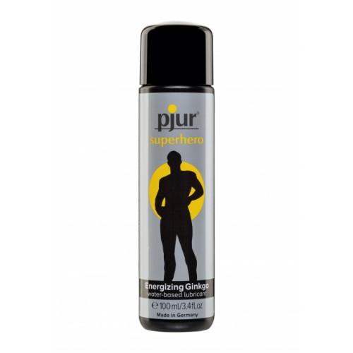 Pjur Superhero Glide - лубрикант с экстрактом гинкго на водной основе, 100 мл