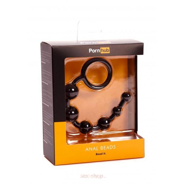 Pornhub Anal Beads анальные бусы, 20х2 см