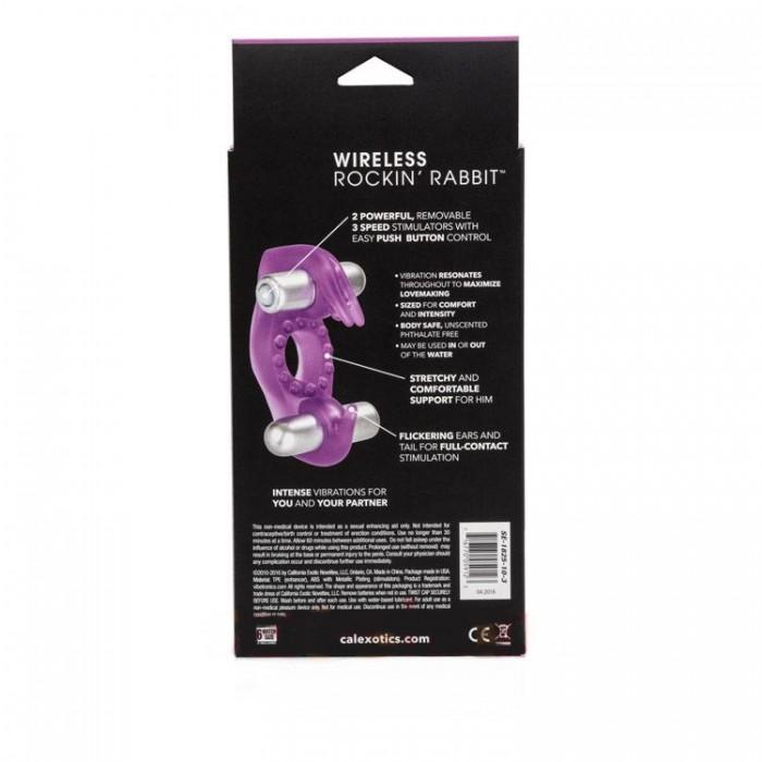 Эрекционное вибро-кольцо Wireless Rockin' Rabbit