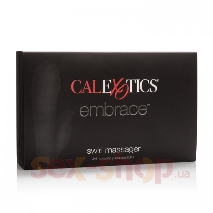 Вибратор Embrace Swirl Massager 11х3 см