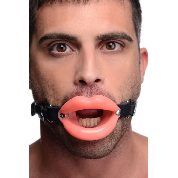 Master Series Sissy Mouth Gag - расширитель рта в форме пышных губ