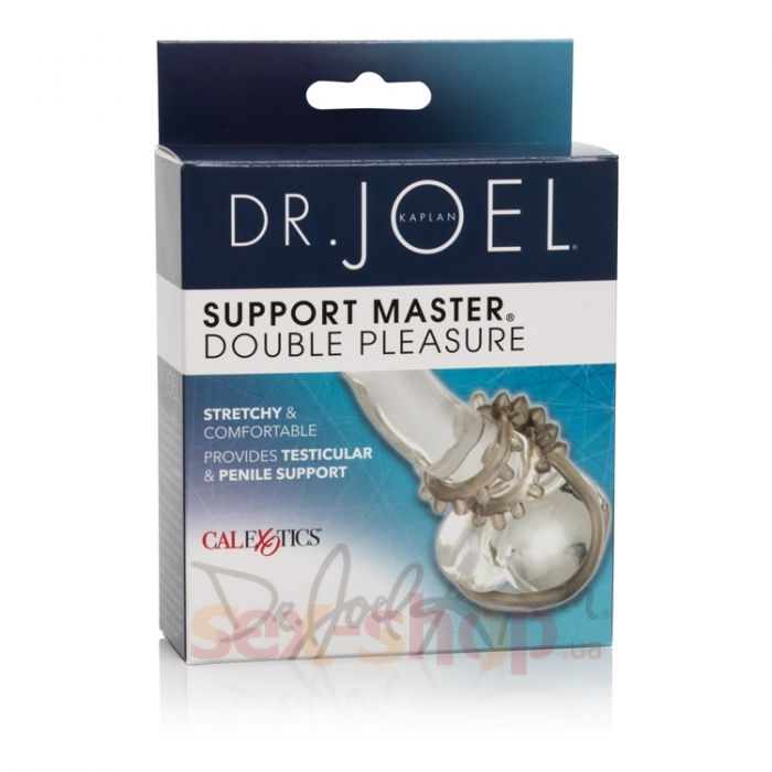 CalExotics Dr. Joel Kaplan Support Master Double Pleasure - насадка на член