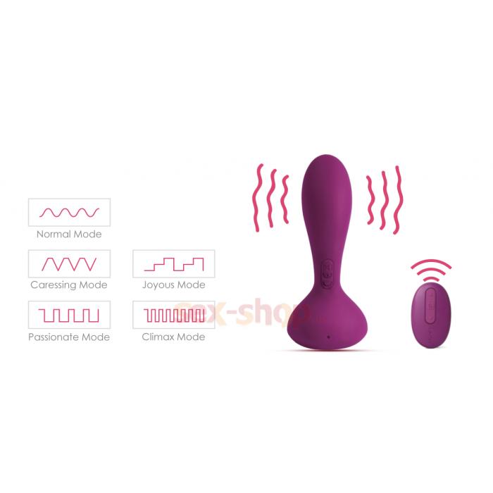 Svakom Julie Violet анальный стимулятор 10.2х2.8 см.