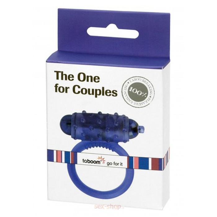 Taboom The One 4 Couples Ring - эрекционное виброкольцо