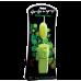 Glo-Glo a Go-Go Nuclear Lime Flicker Tip Vibrating Bullet