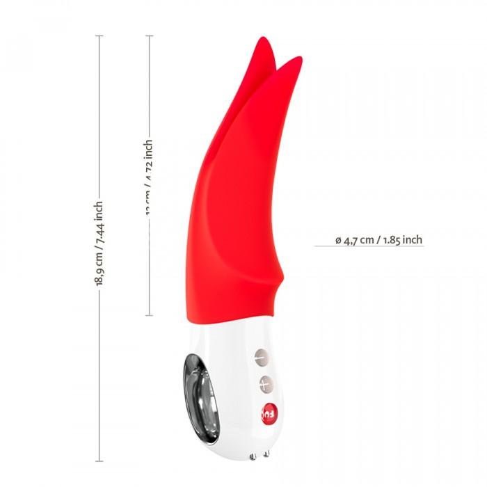 Fun Factory Volta - вибратор для клитора, 12х4,7 см