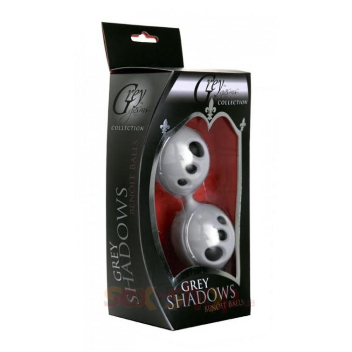 Вагинальные шарики Grey Shadows Ben Wa Balls
