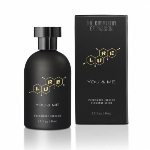 Духи с феромонами Lure® Black Label You & Me, Pheromone Personal Scent, 74 мл